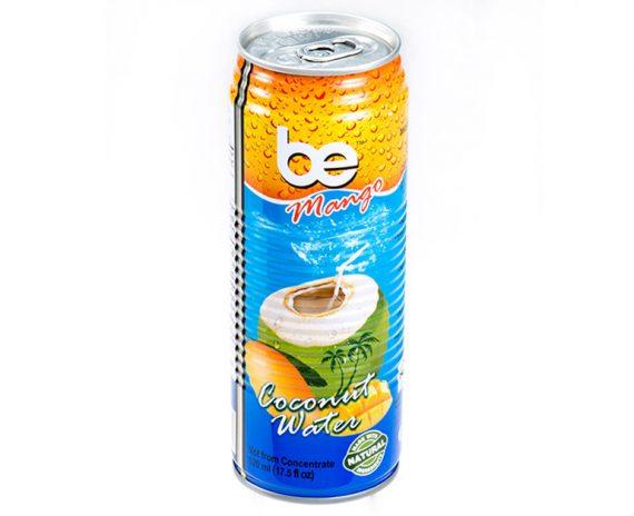 Кокосова вода с манго, be Pure, кен 520ml