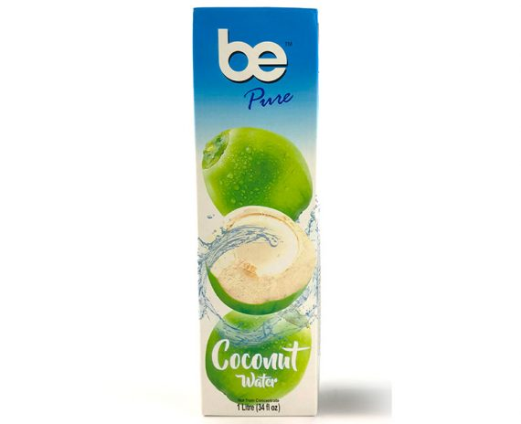 Стек кокосова вода, натурална, be Pure, 12x1l